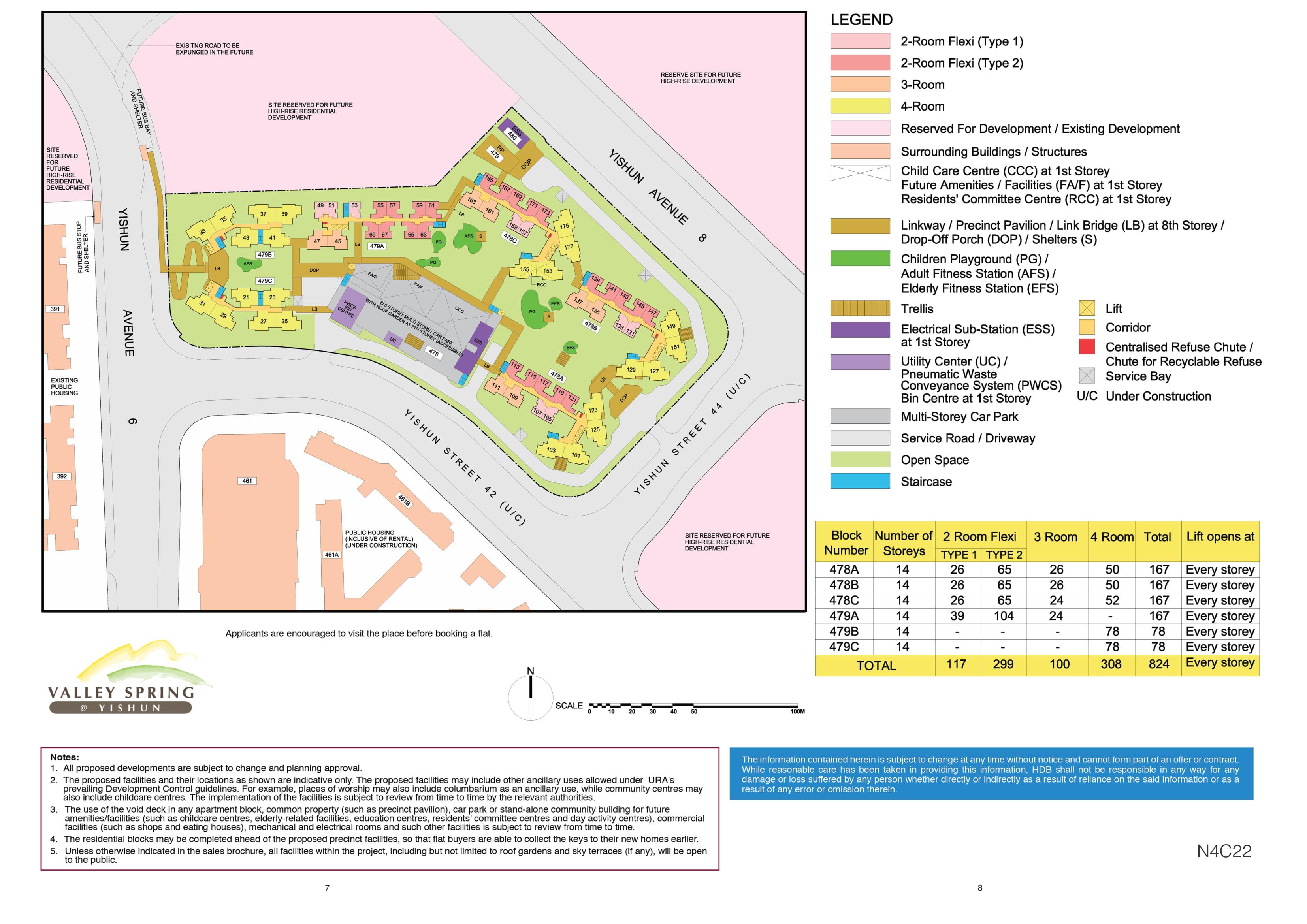 Valley Spring @ Yishun Site Plan