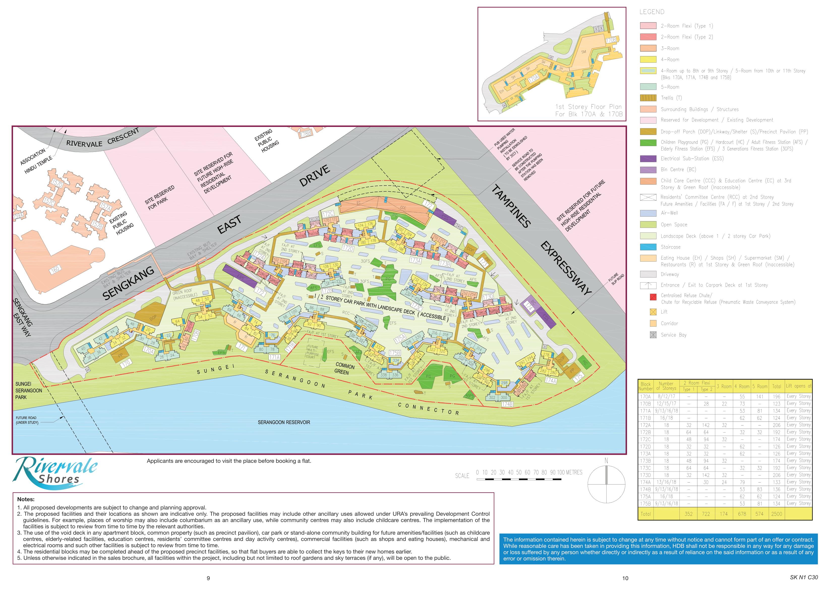 Rivervale Shores Site Plan