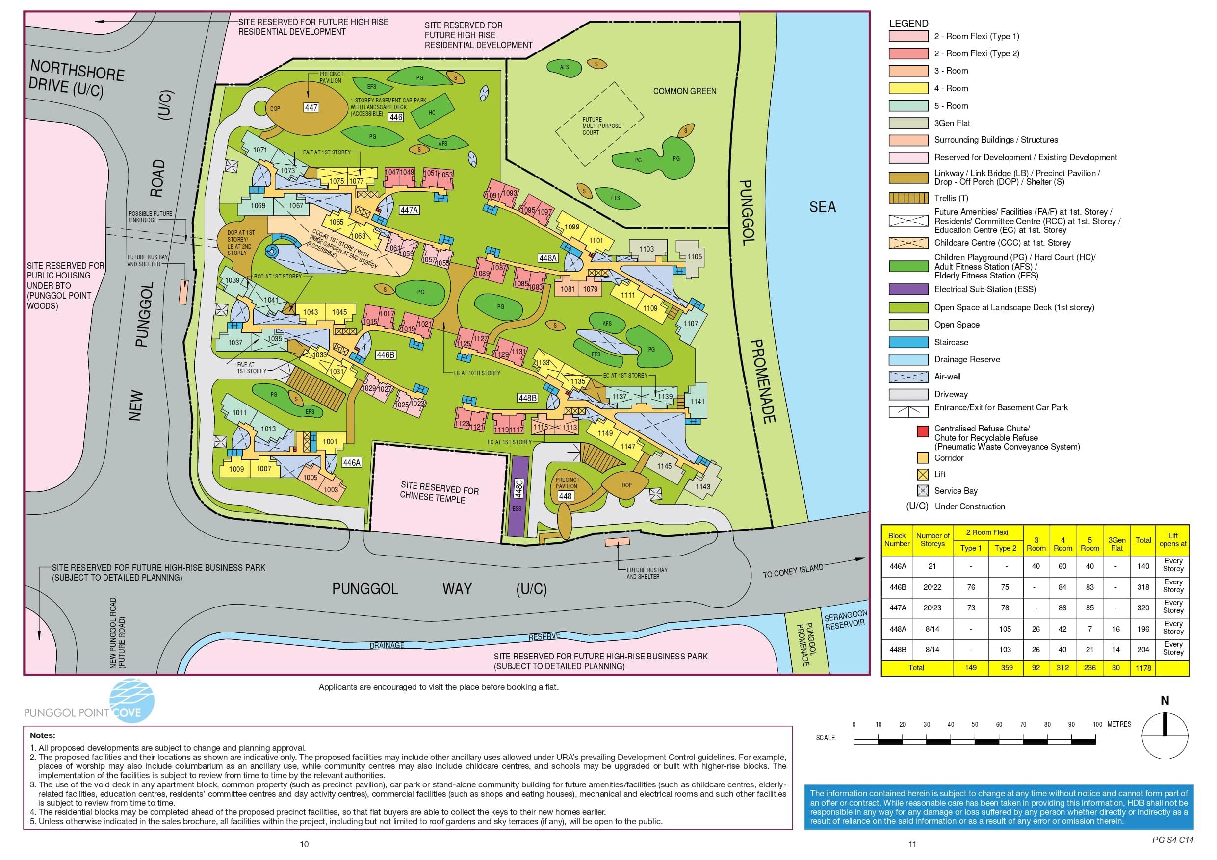 Punggol Point Cove Site Plan