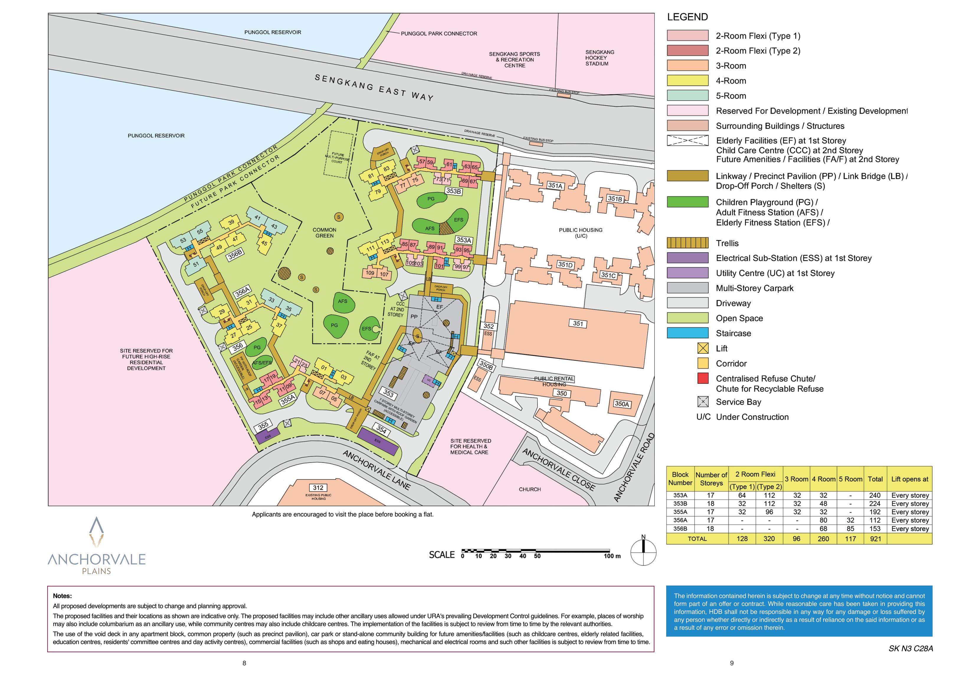 Anchorvale Plains Site Plan