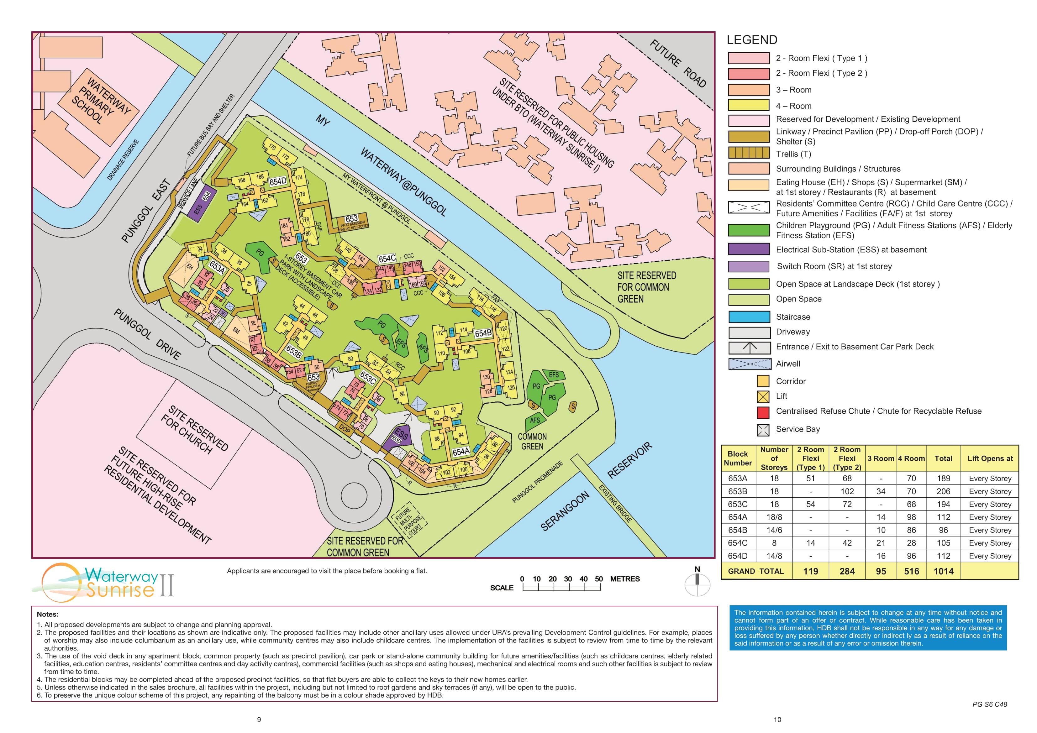 Waterway Sunrise II Site Plan