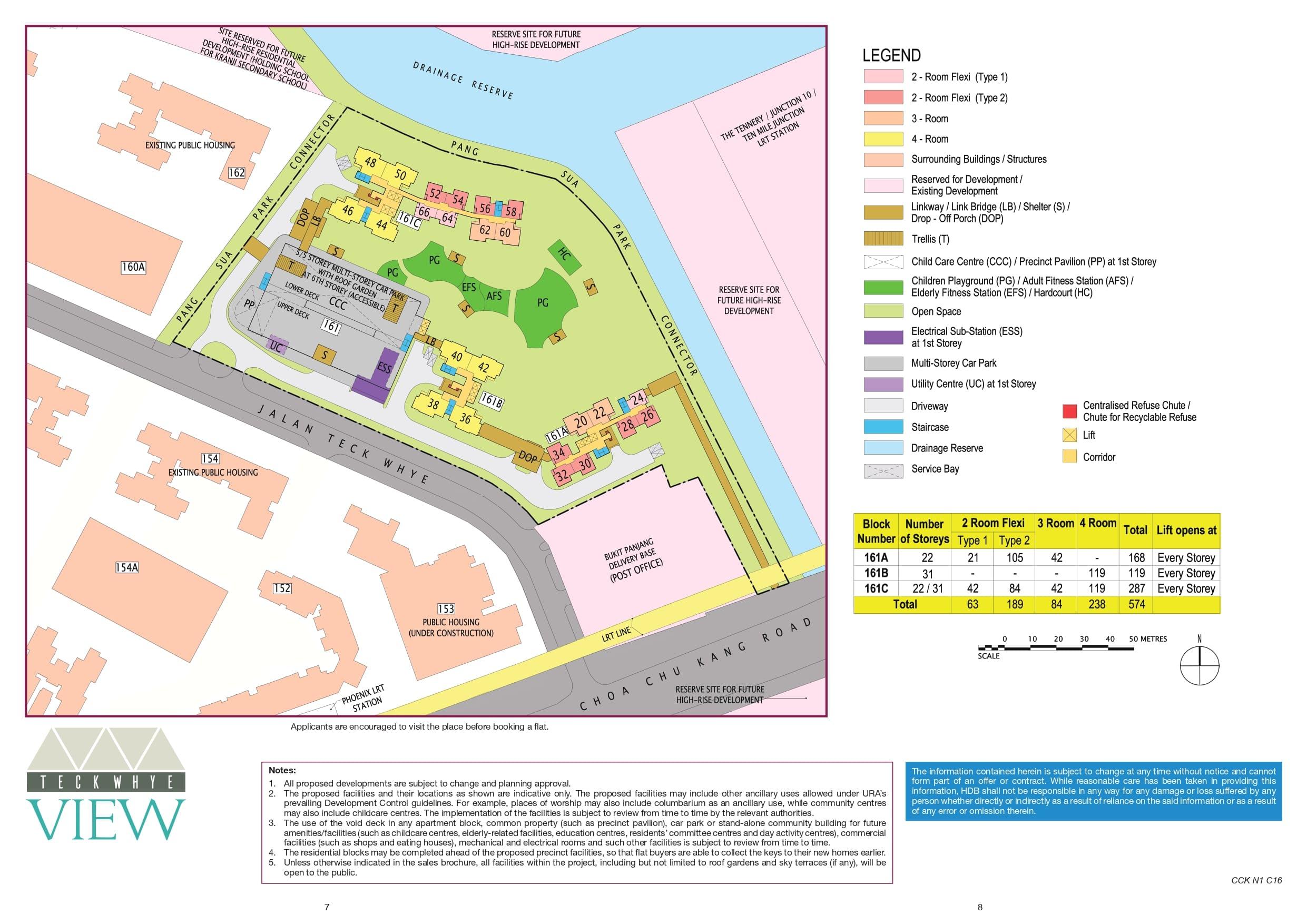 Teck Whye View Site Plan