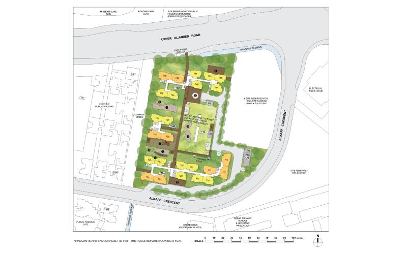 Alkaff Breeze site plan
