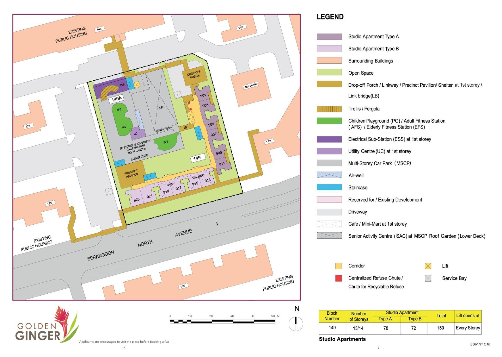 Golden Ginger Site Plan