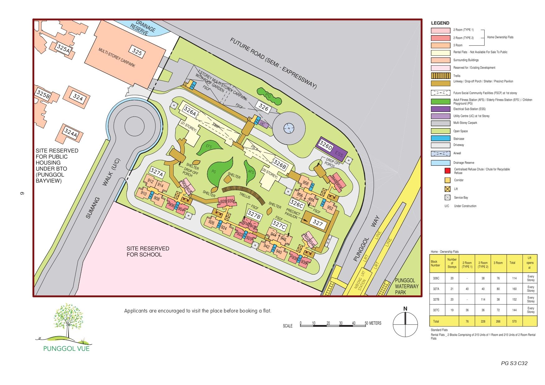 Punggol Vue Site Plan