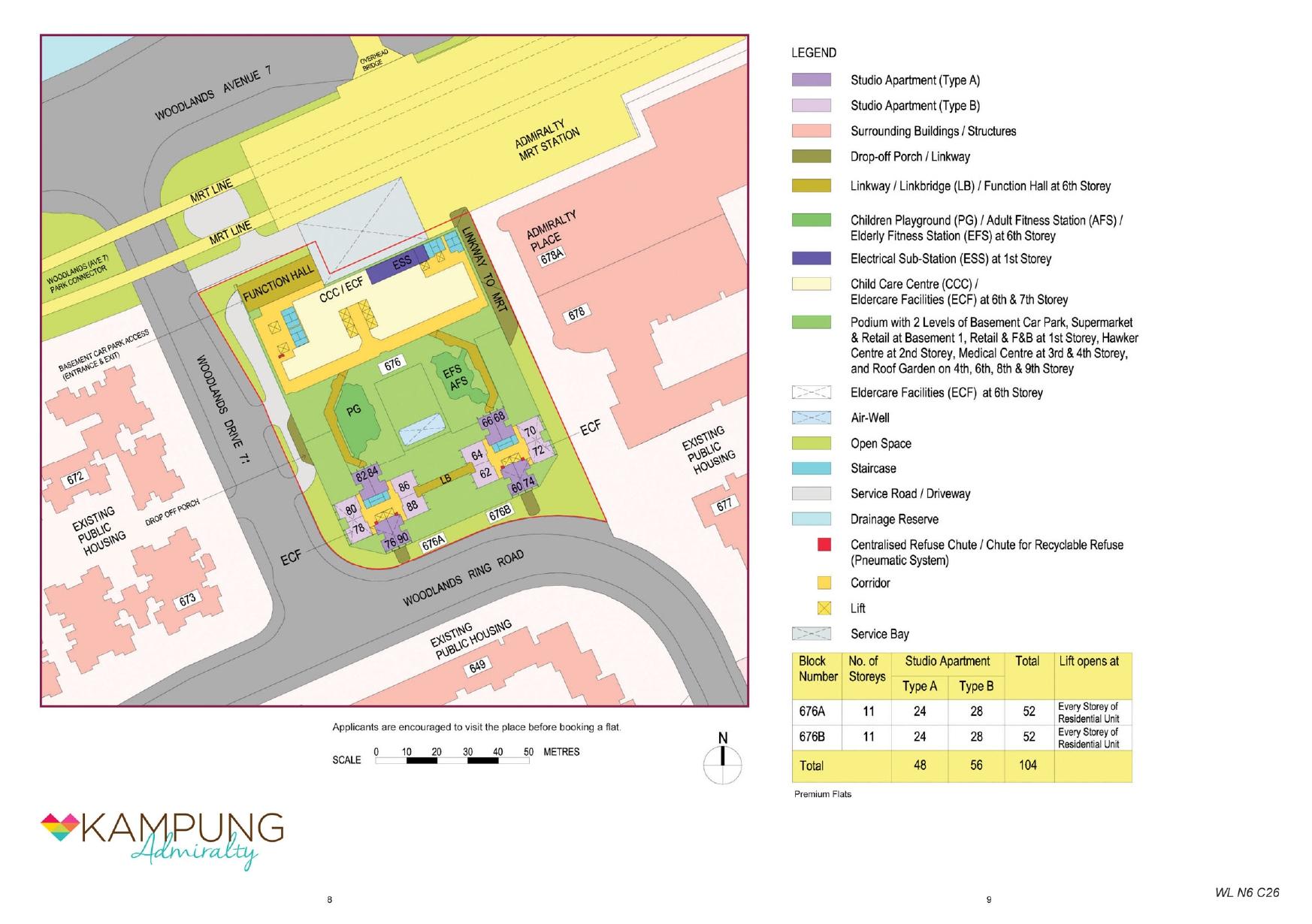 Kampung Admiralty Site Plan