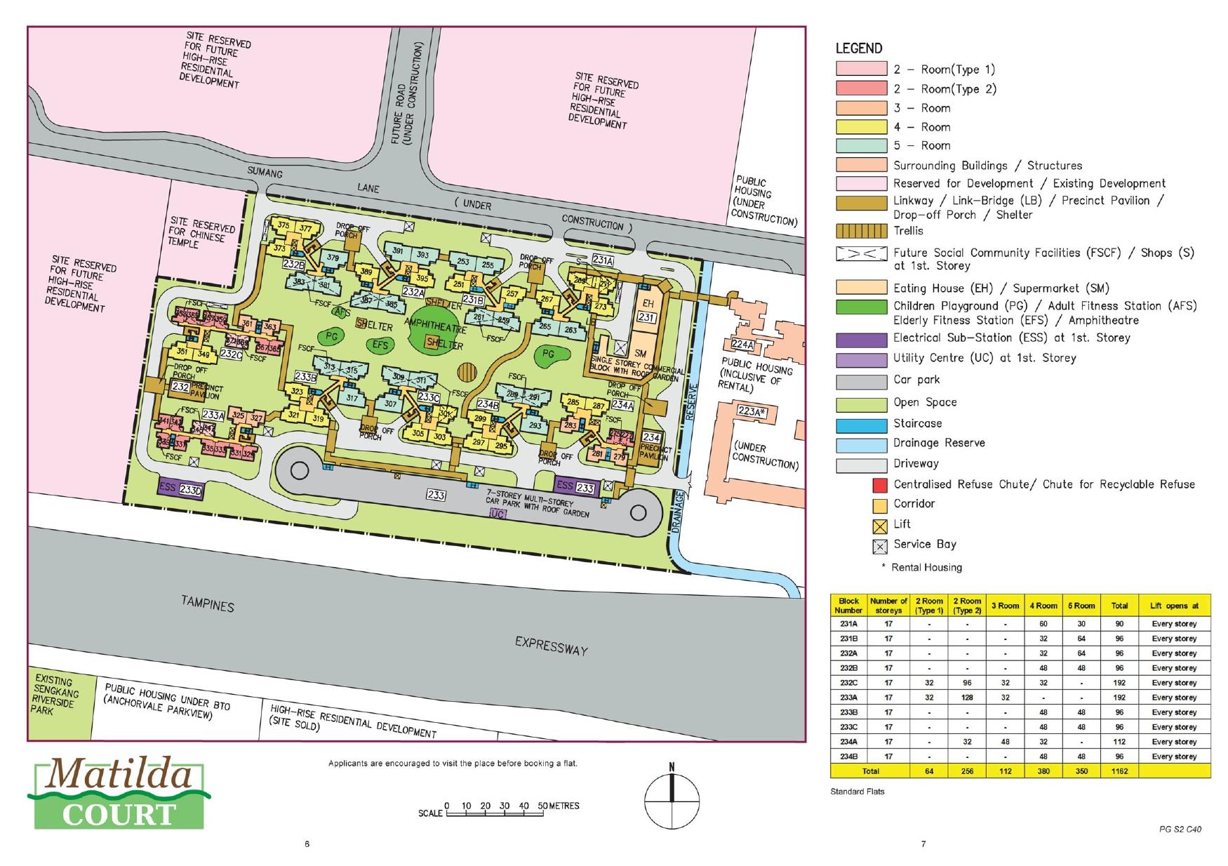Matilda Court Site Plan