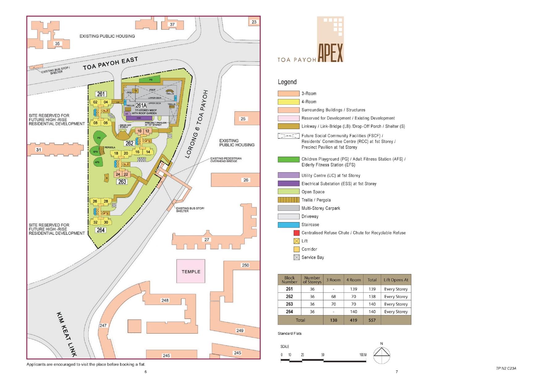 Toa Payoh Apex Site Plan
