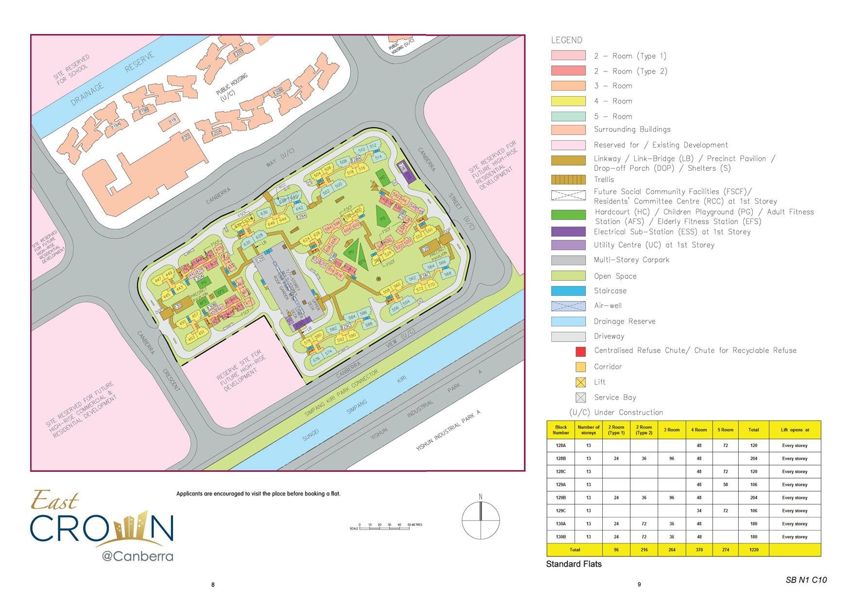 EastCrown @ Canberra Site Plan
