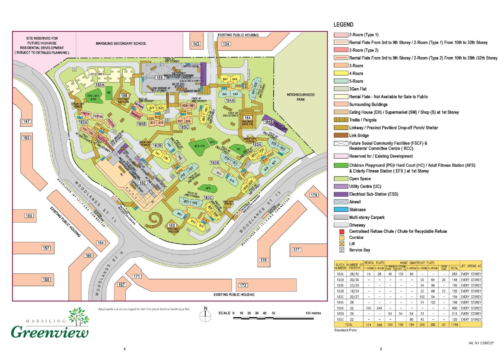 Marsiling Greenview Site Plan