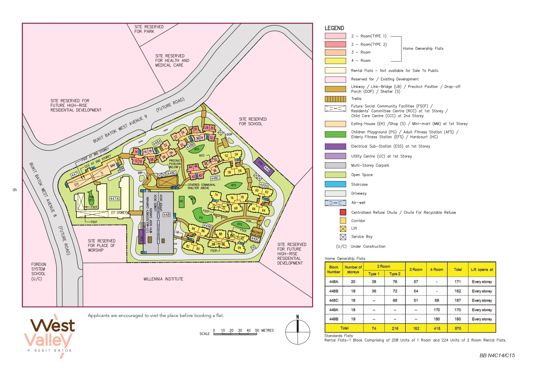 West Valley @ Bukit Batok Site Plan