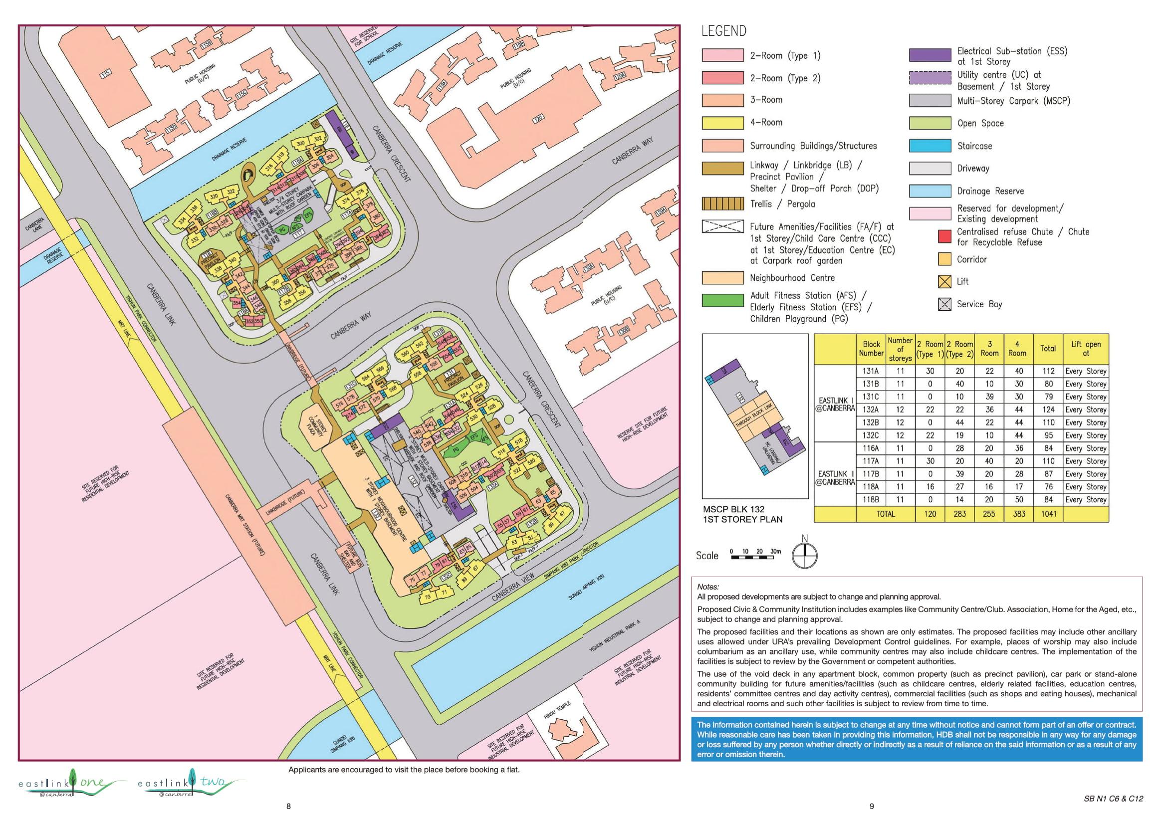 EastLink I @ Canberra Site Plan
