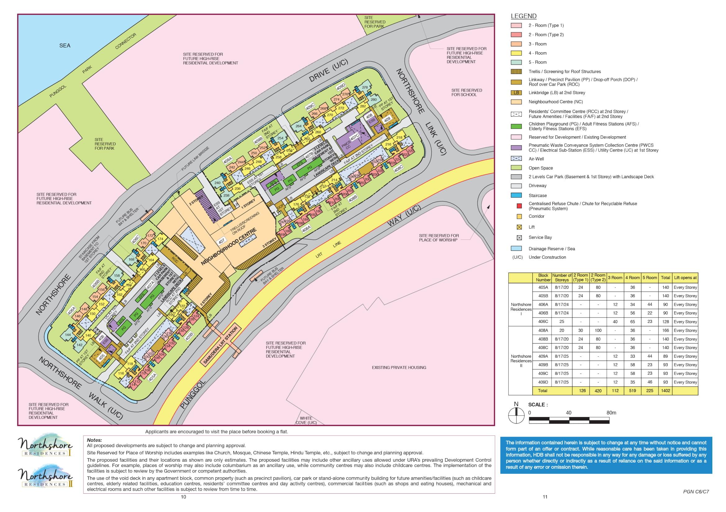 Northshore Residences II Site Plan
