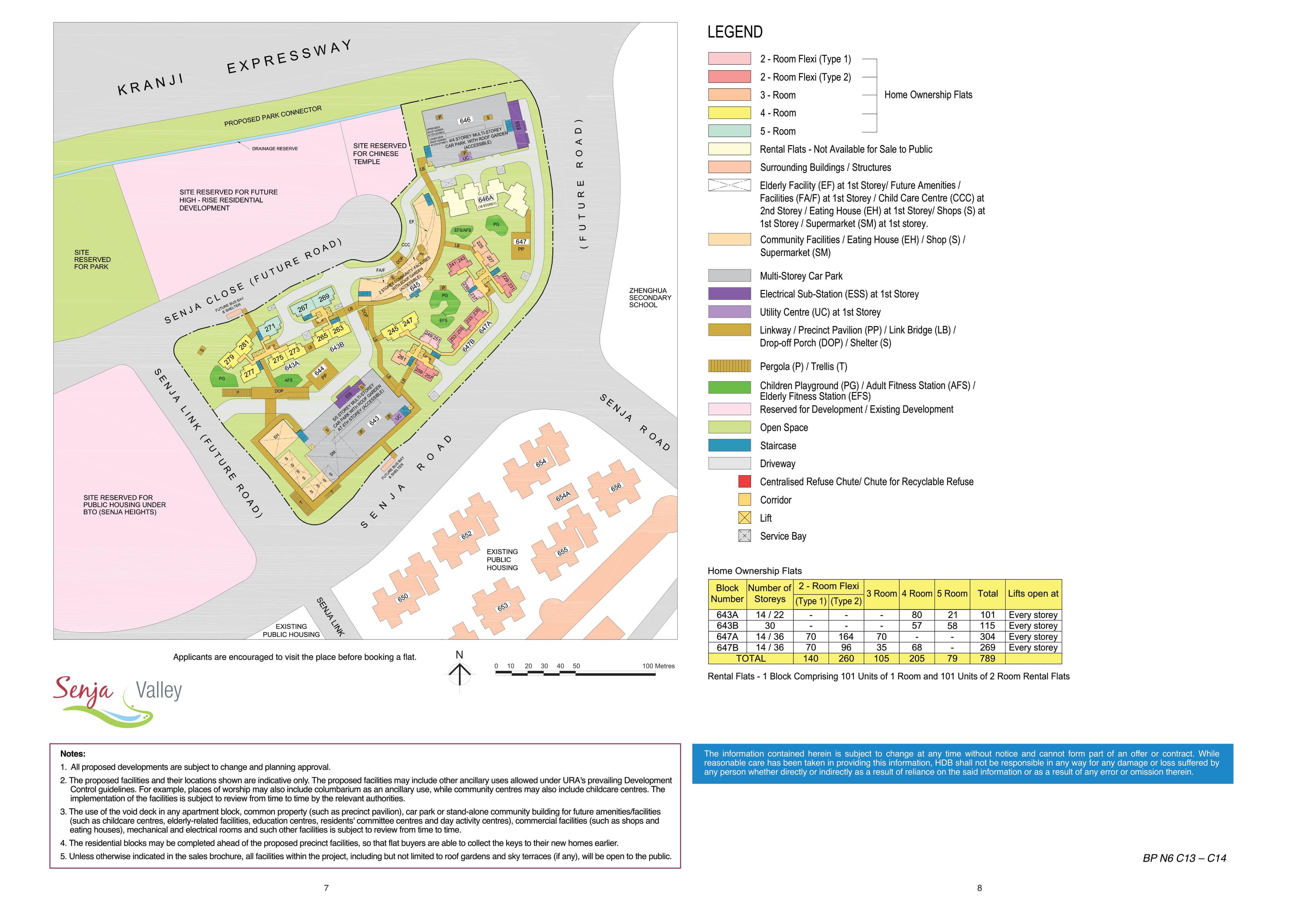 Senja Valley Site Plan
