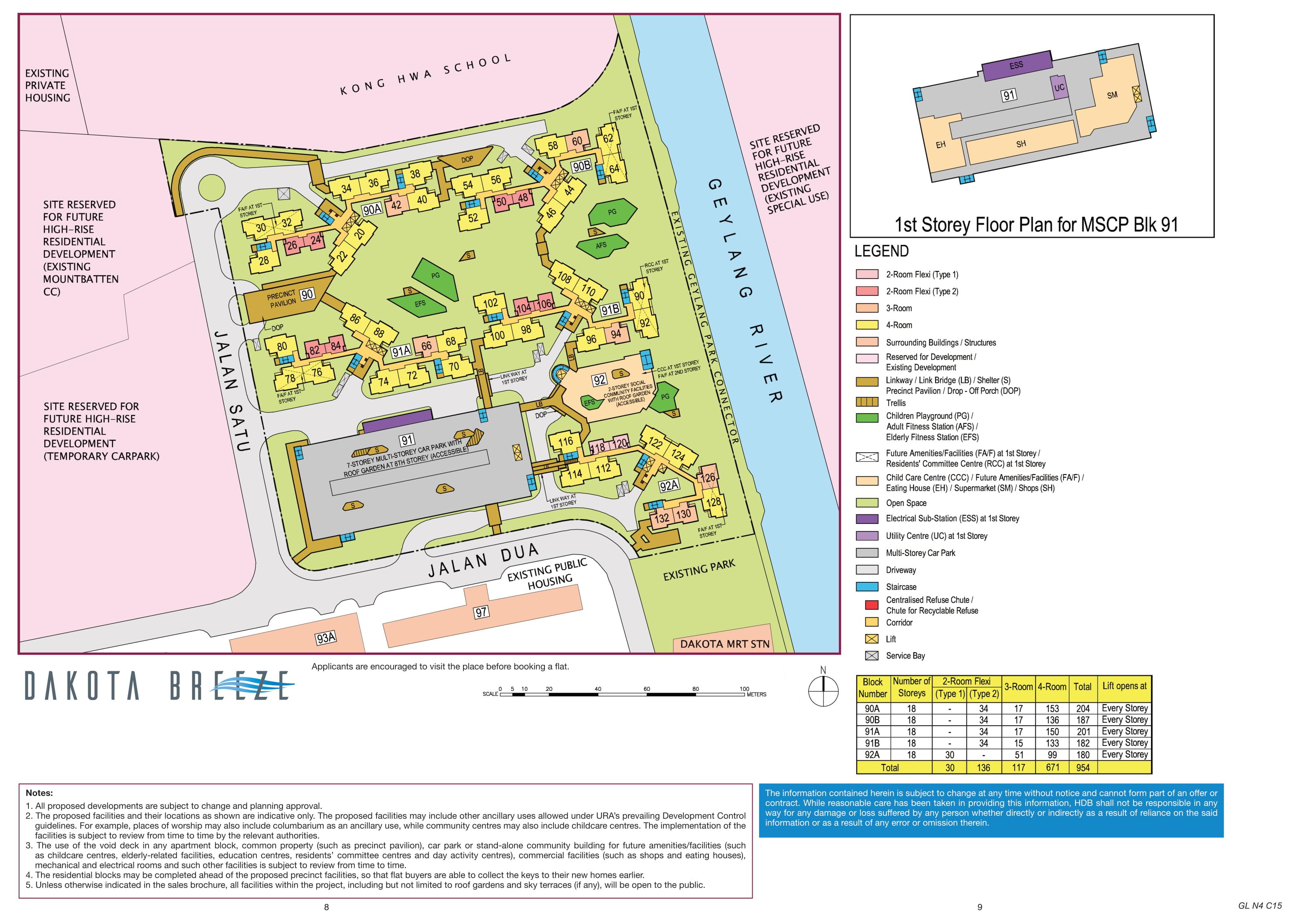 Dakota Breeze Site Plan