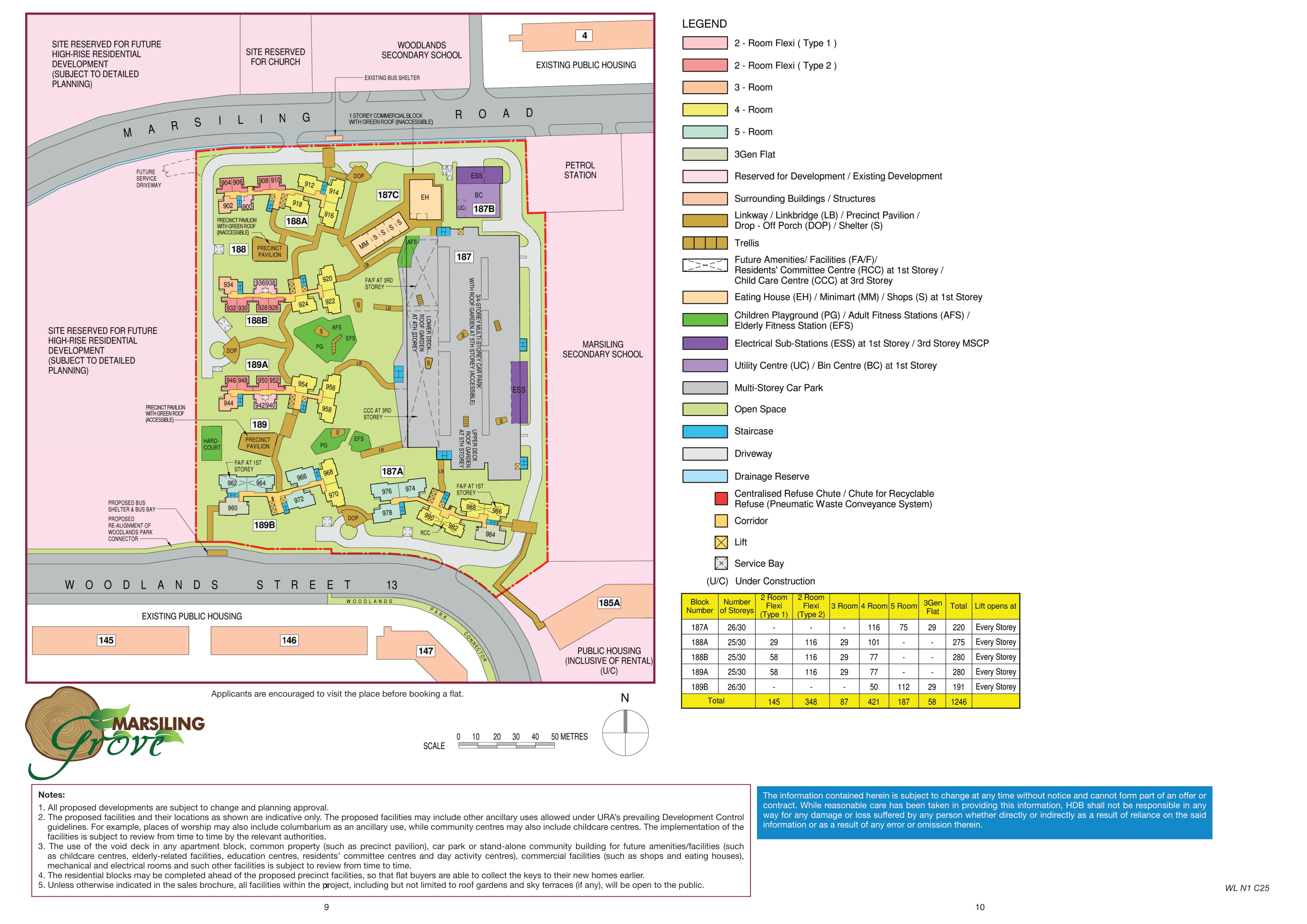 Marsiling Grove Site Plan