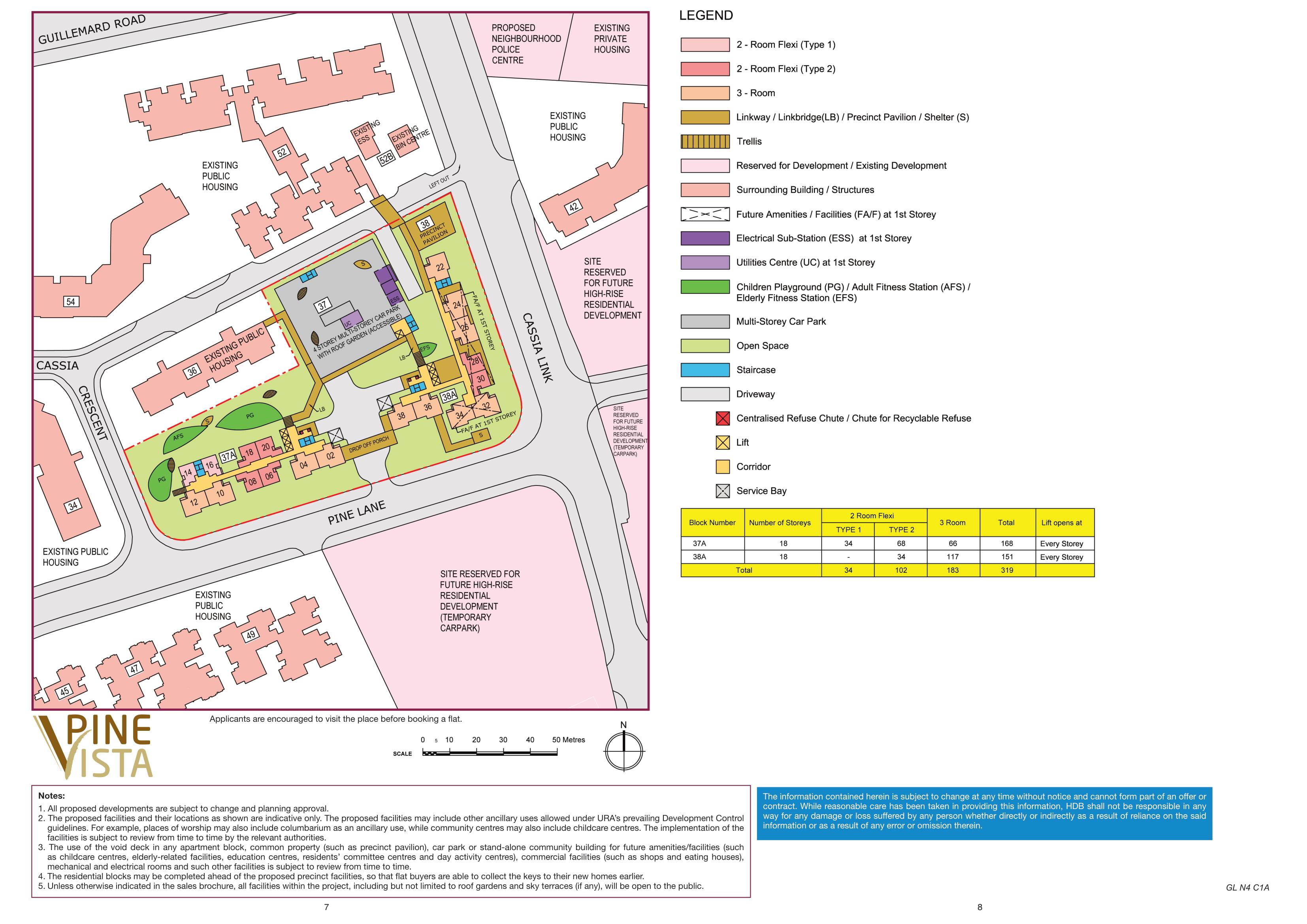 Pine Vista Site Plan
