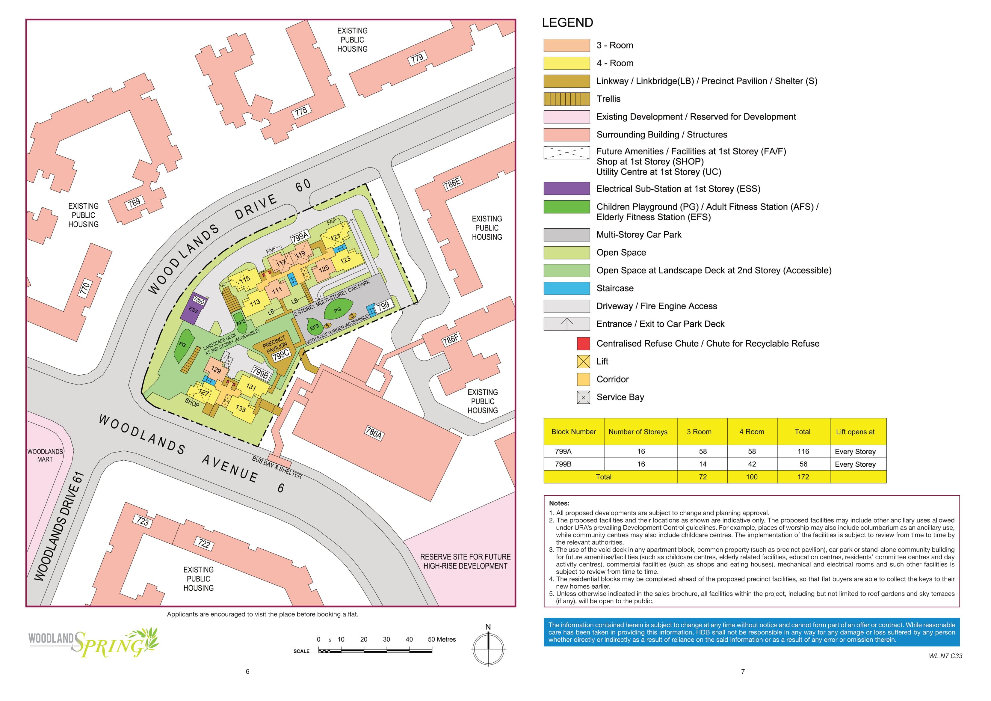 Woodlands Spring Site Plan