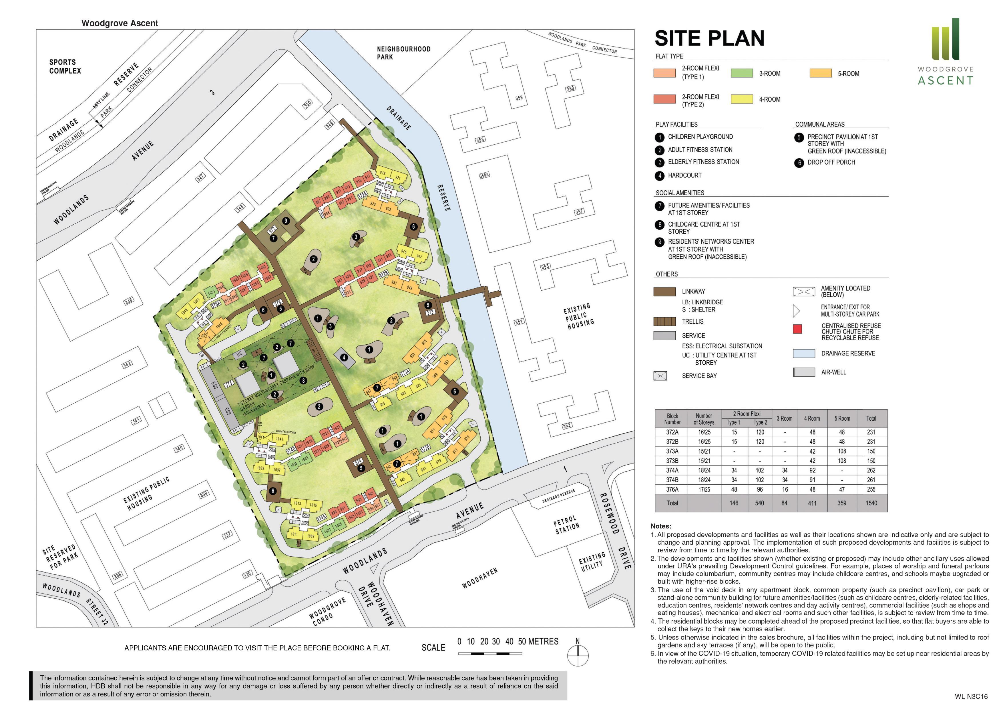 Woodgrove Ascent Site Plan
