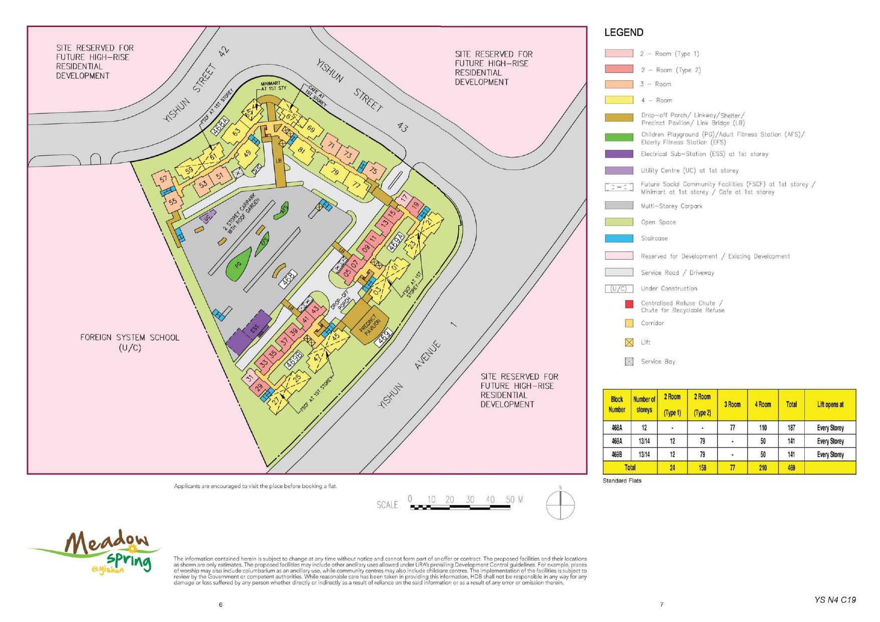 Meadow Spring @ Yishun Site Plan