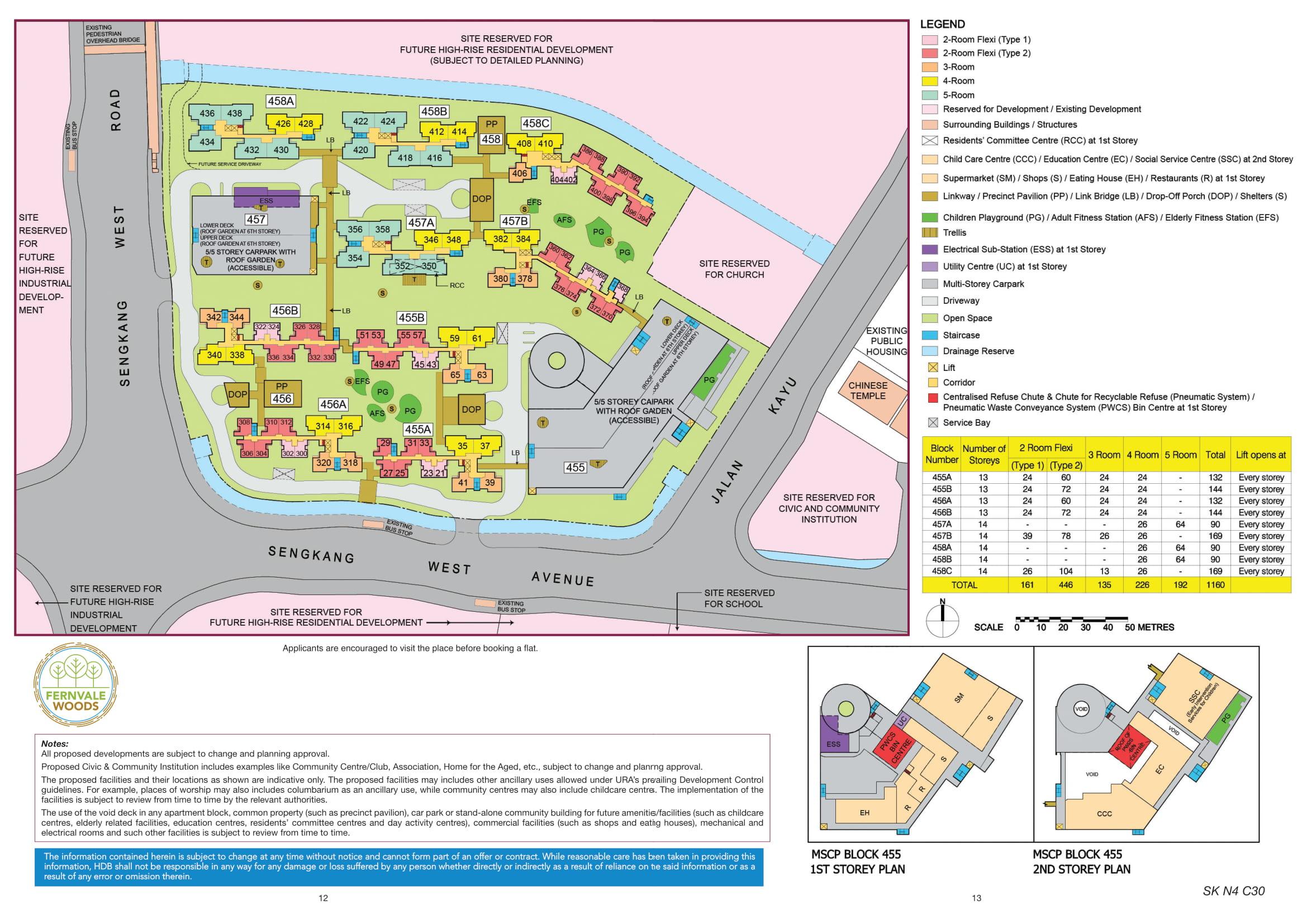 Fernvale Woods Site Plan