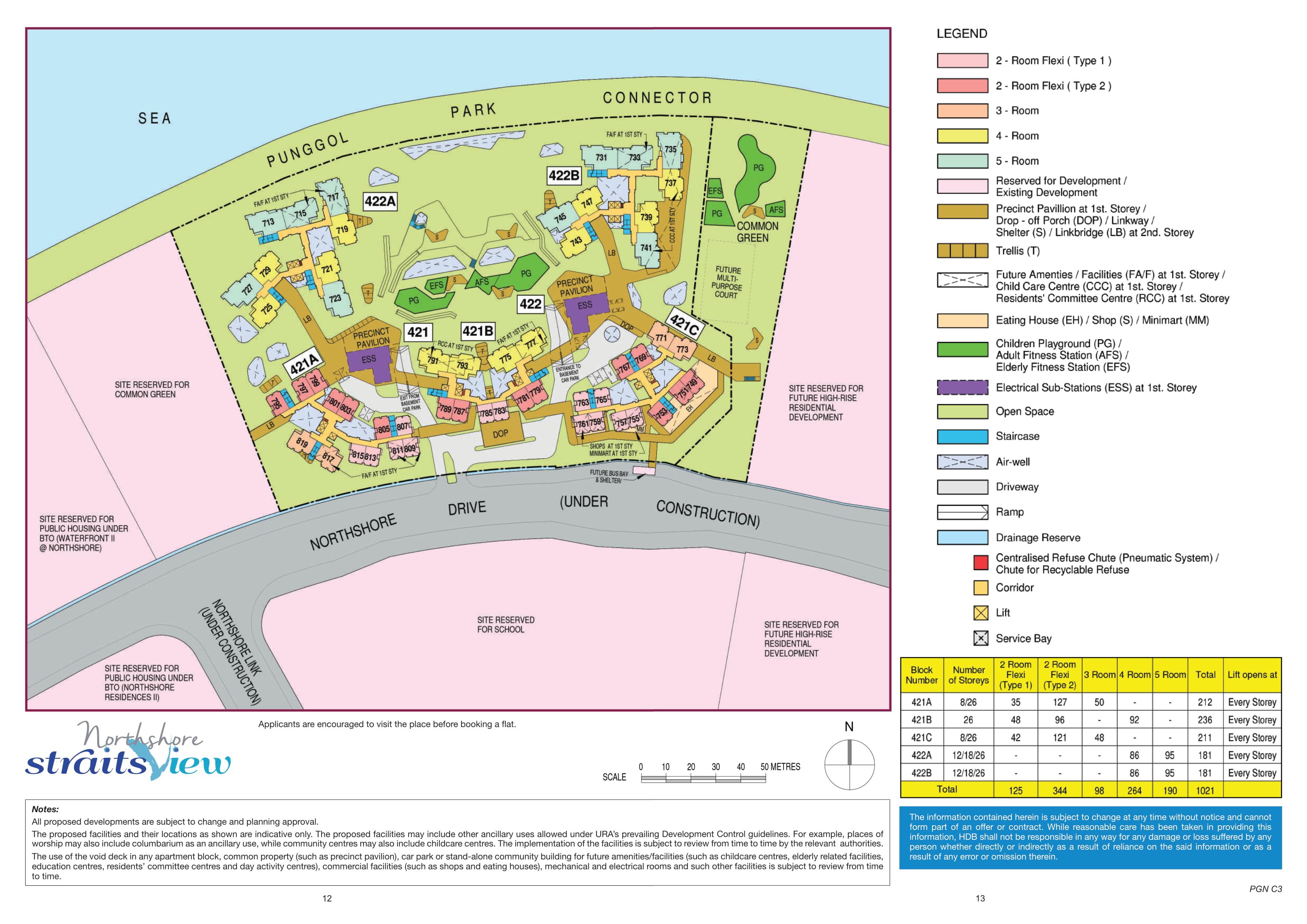 Northshore StraitsView Site Plan