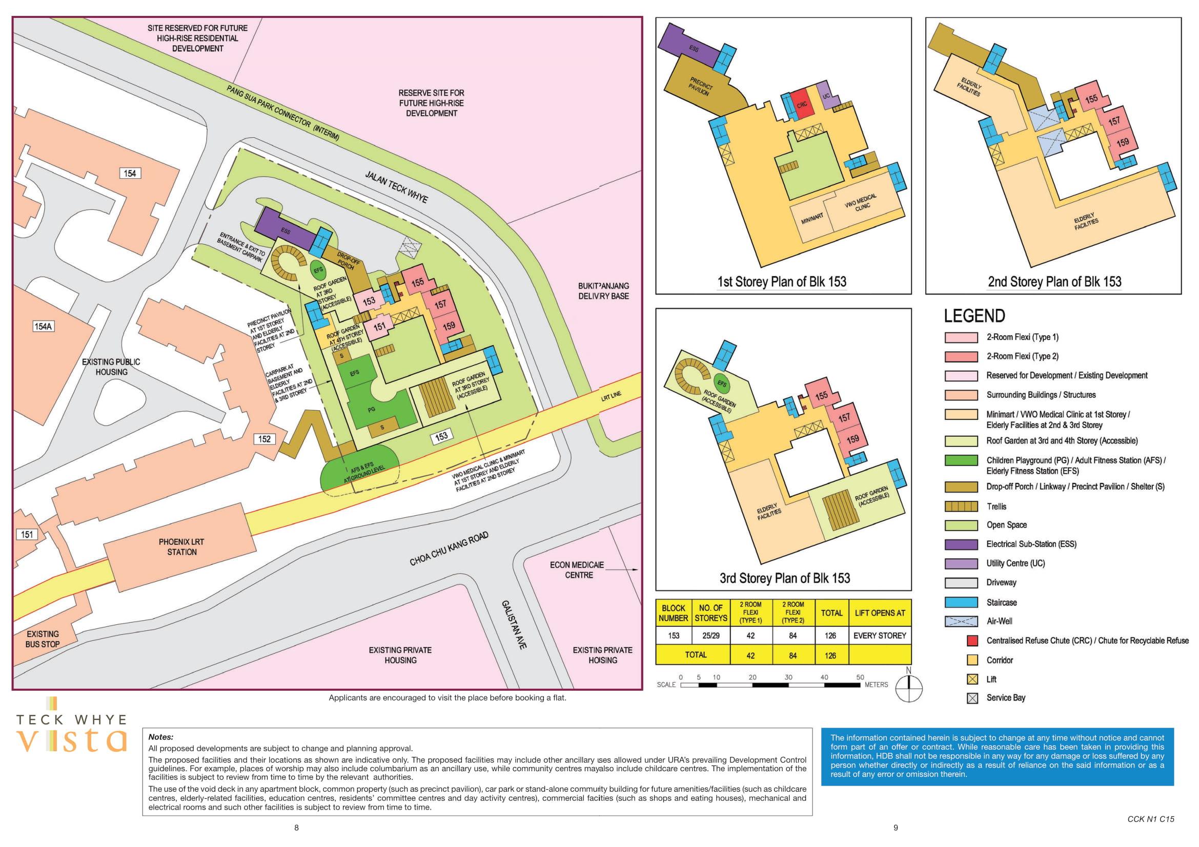 Teck Whye Vista Site Plan