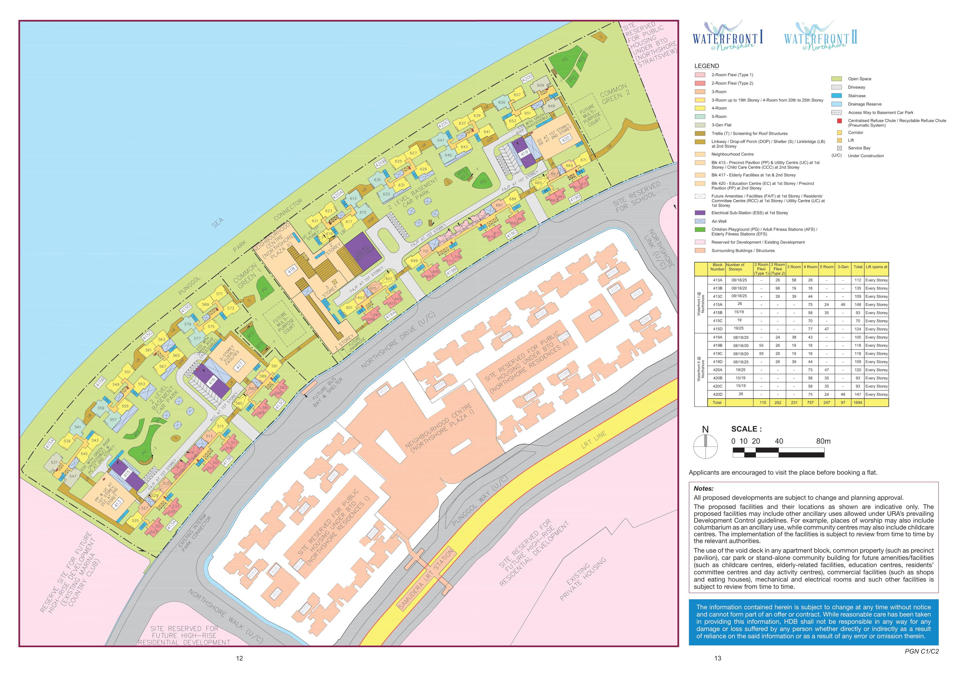 Waterfront I @ Northshore Site Plan