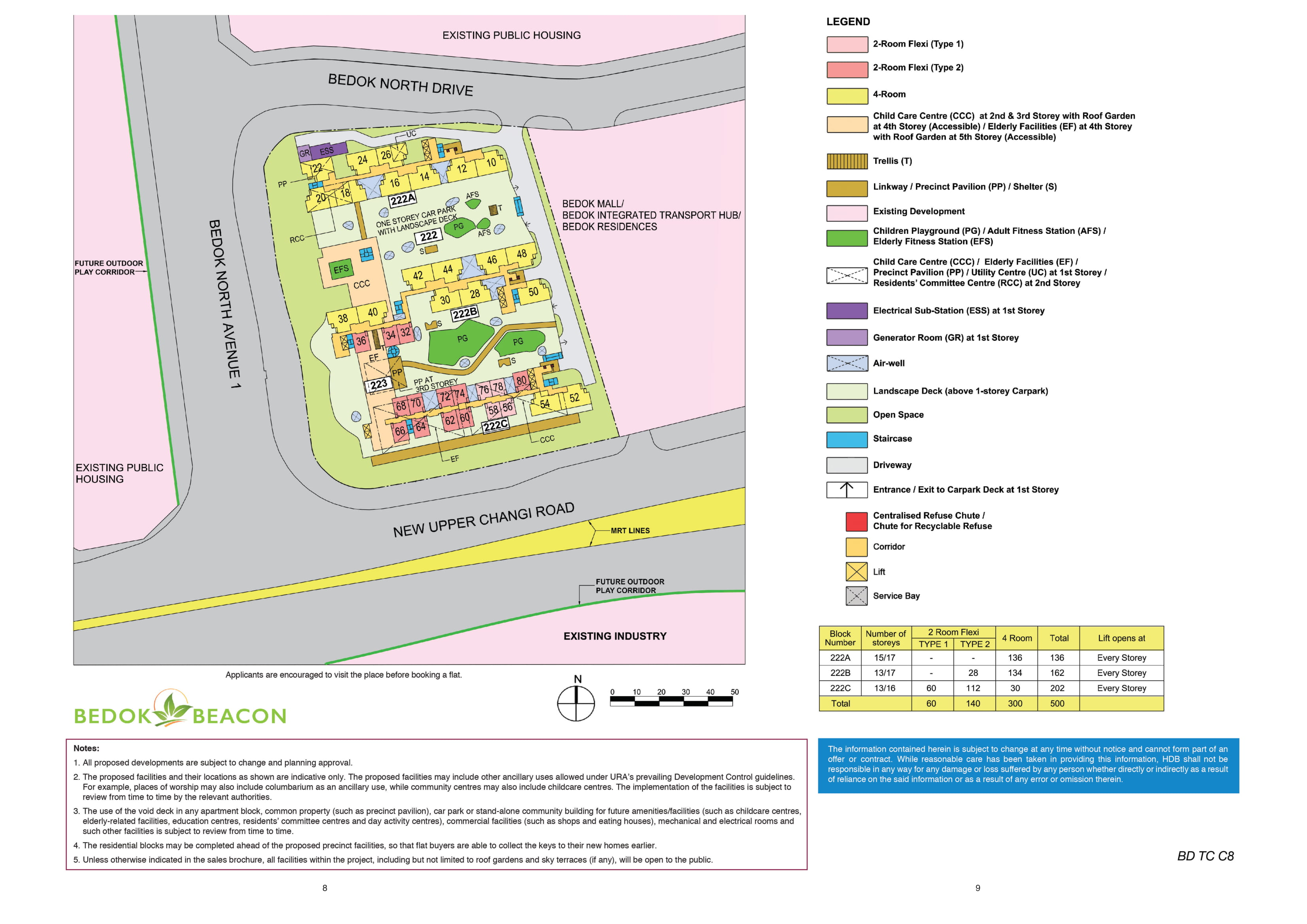 Bedok Beacon Site Plan