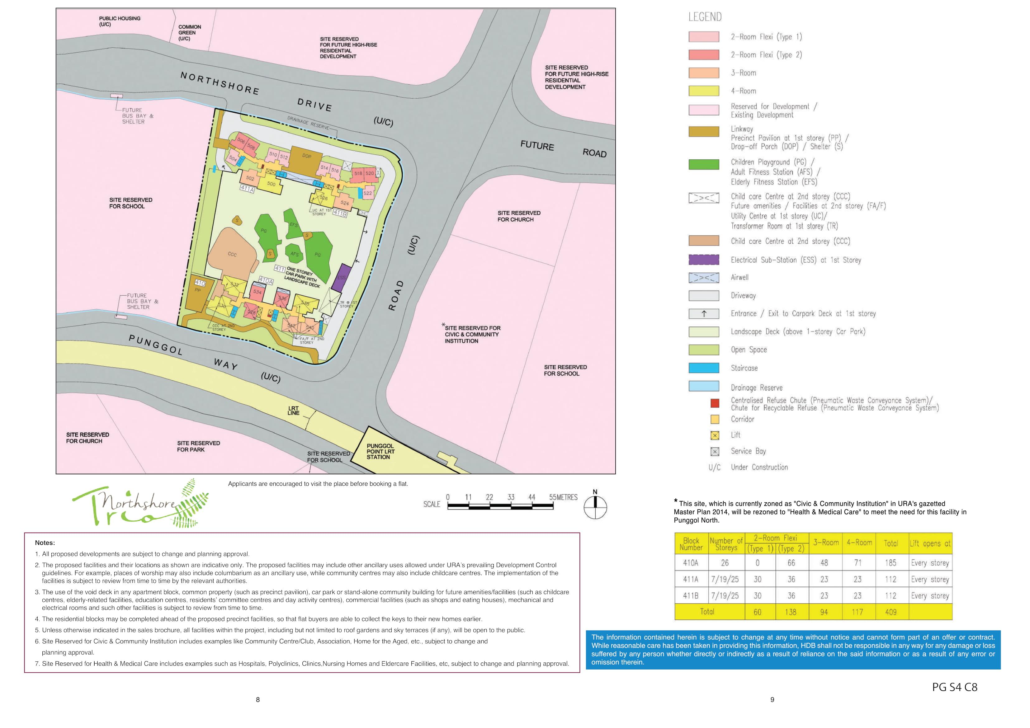 Northshore Trio Site Plan