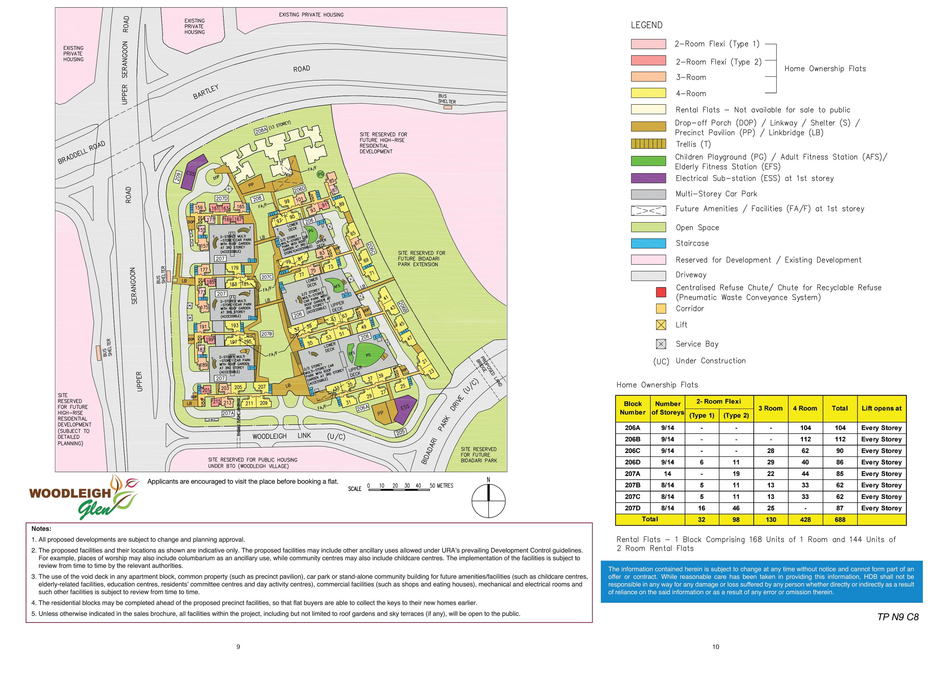 Woodleigh Glen Site Plan