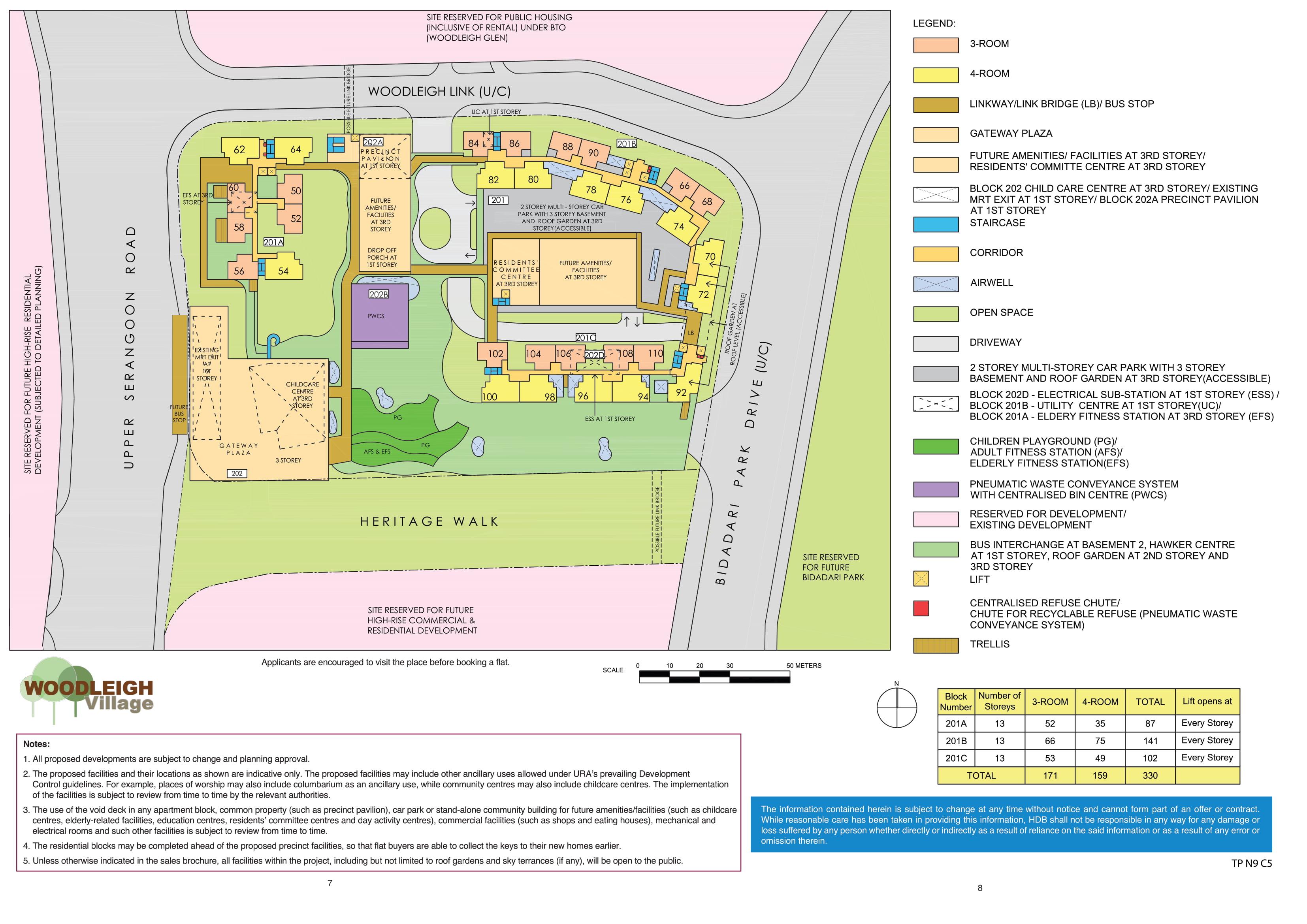 Woodleigh Village Site Plan