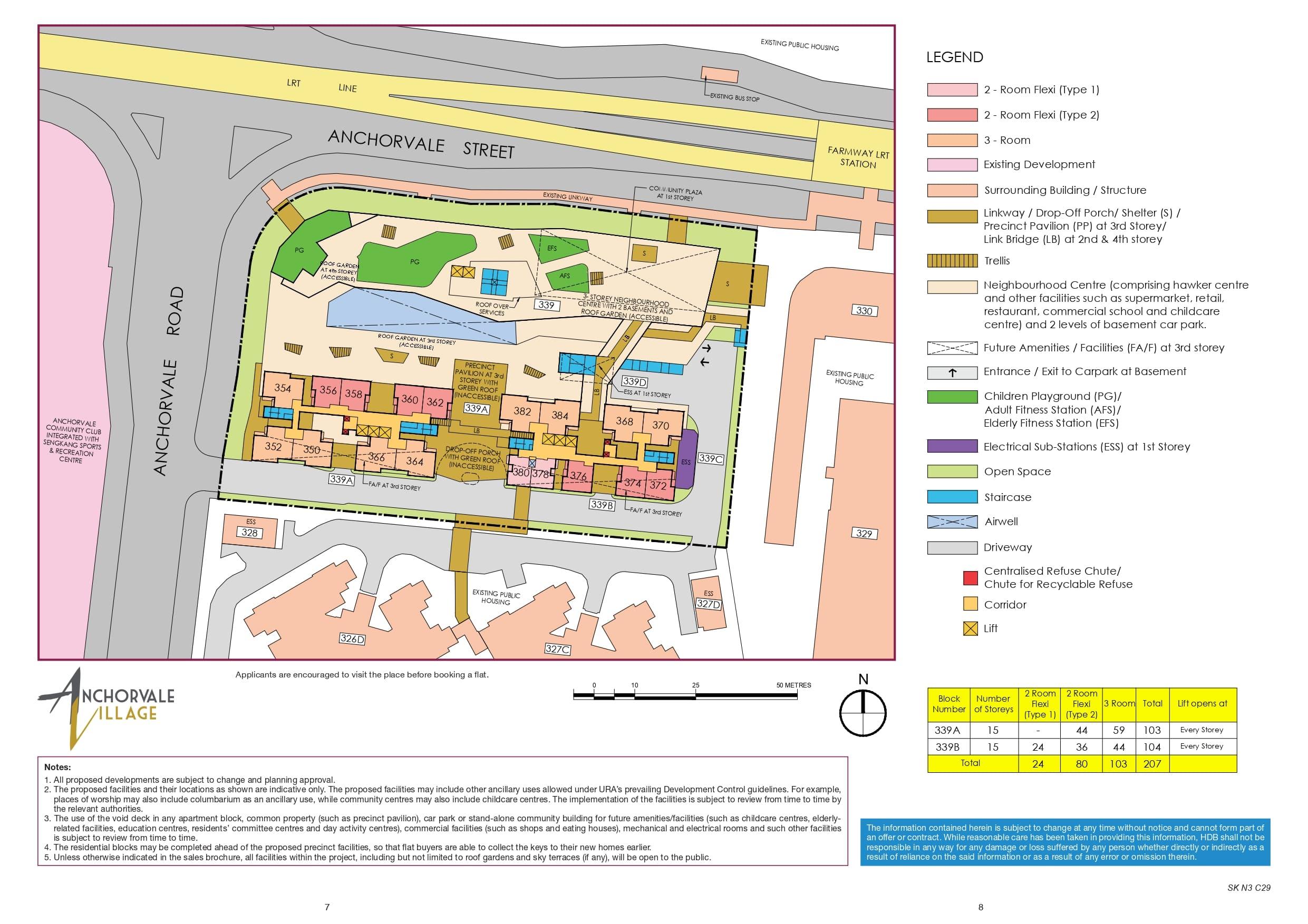 Anchorvale Village Site Plan