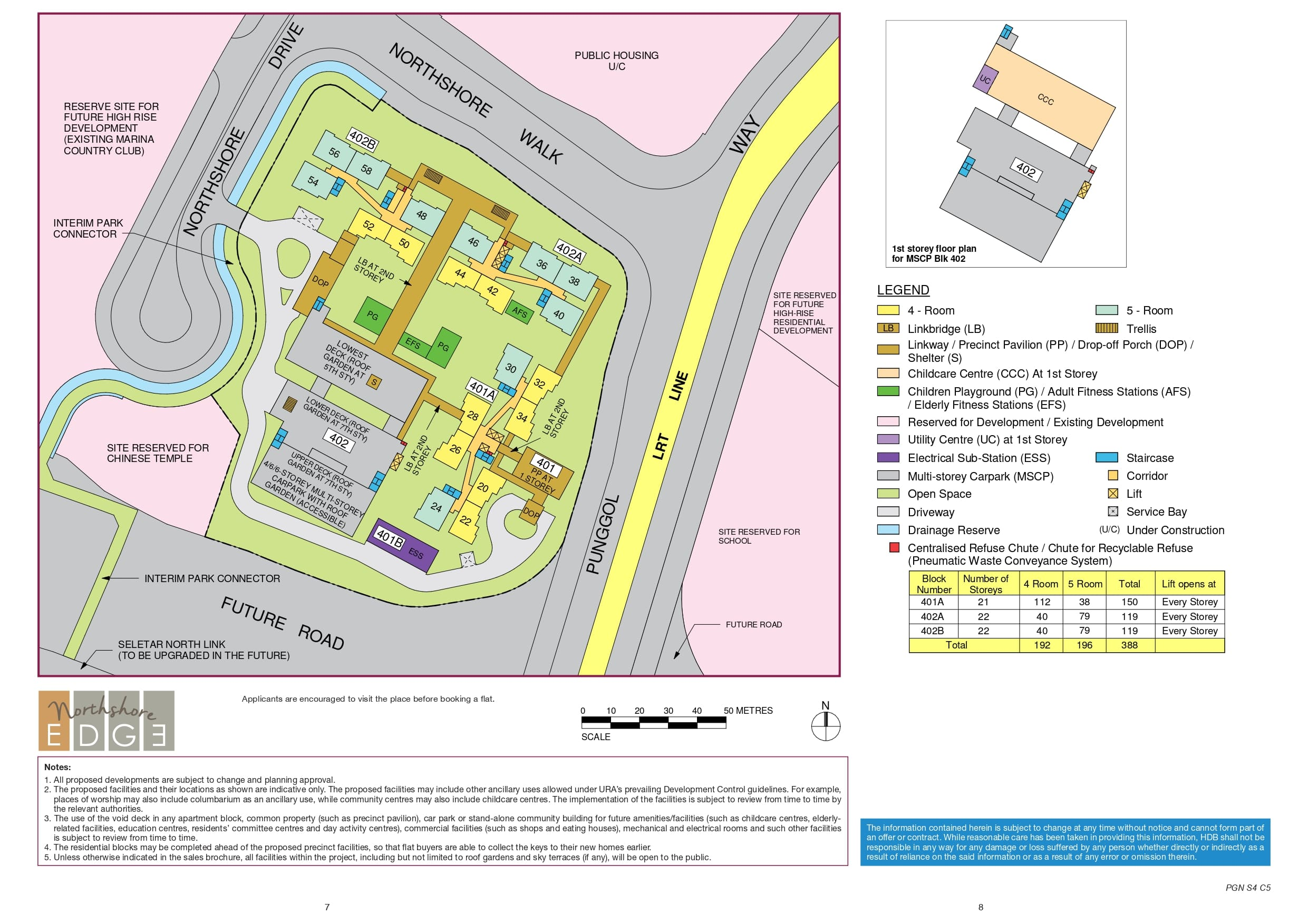 Northshore Edge Site Plan