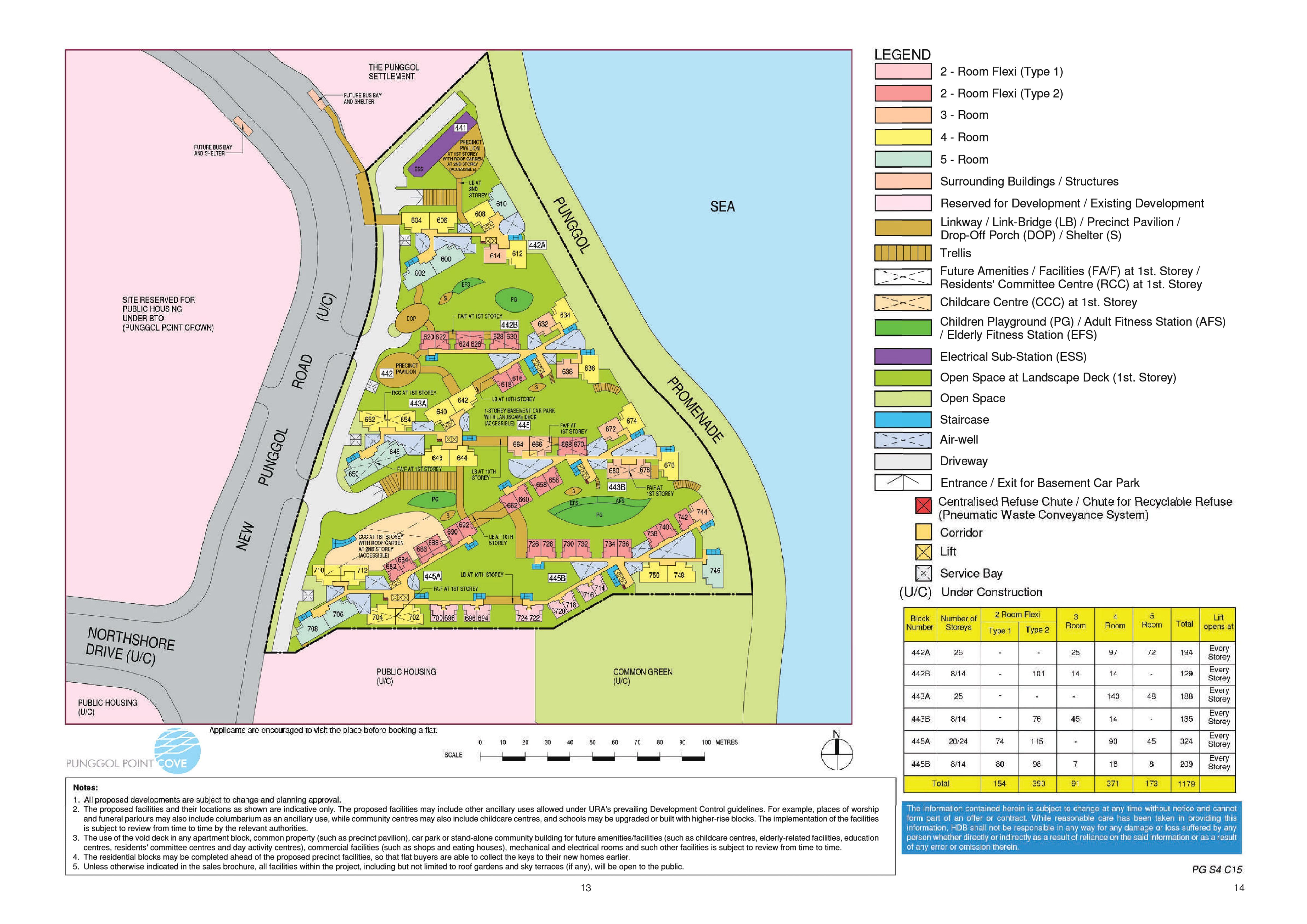 Punggol Point Cove (Sep) Site Plan